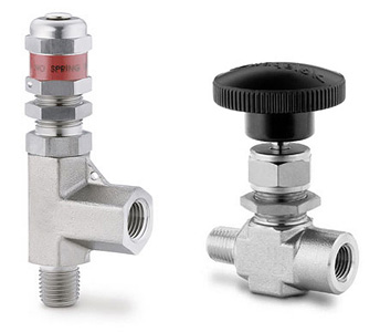 SC-163100-1000/M: SS Integral Bonnet Needle Valve